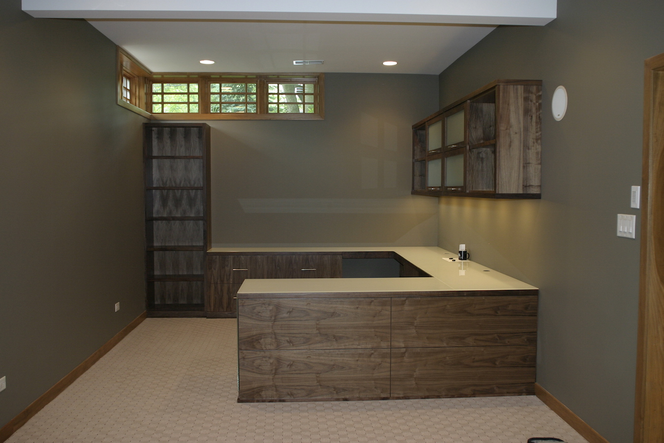 Custom Home Office Interior Luxury. Chicago Home Office Custom Interior  Luxury E