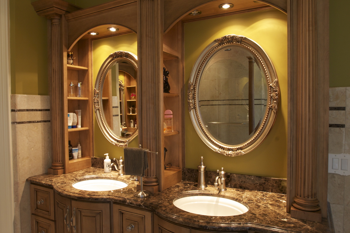 Custom Bathroom Vanities Designs kitchen cabinets and bathroom vanity design | chicago closets