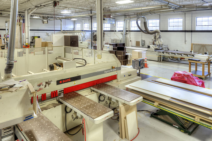 Our facility includes a Sigma 90 Plus panel saw.