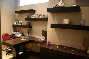 Custom Home Office 1