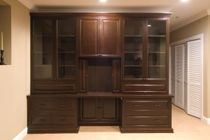 Built-In with Sliding Door