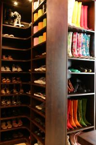 Custom Shoe Storage