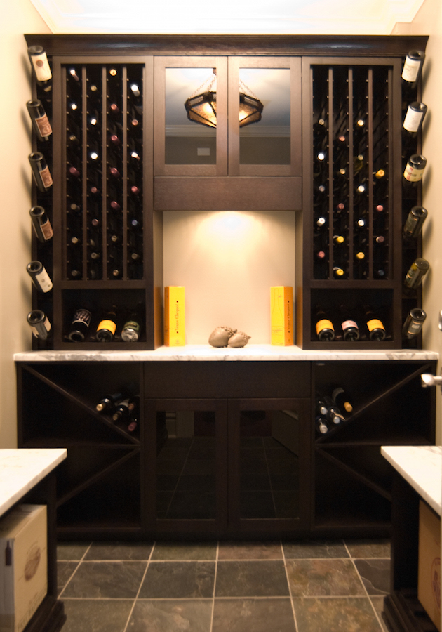 Custom Wine Rack