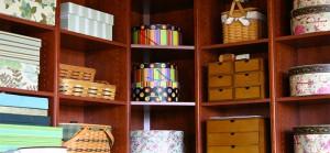 Colorful Shelves