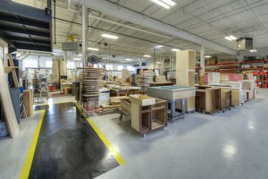 Our manufacturing area.