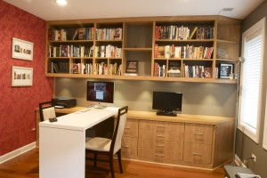 Custom Home Office 2