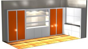 Closet Rendering